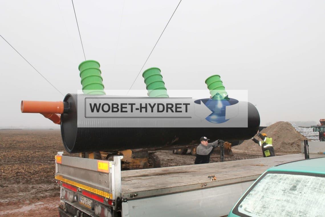 Zbiorniki koalescencyjne Wobet-Hydret