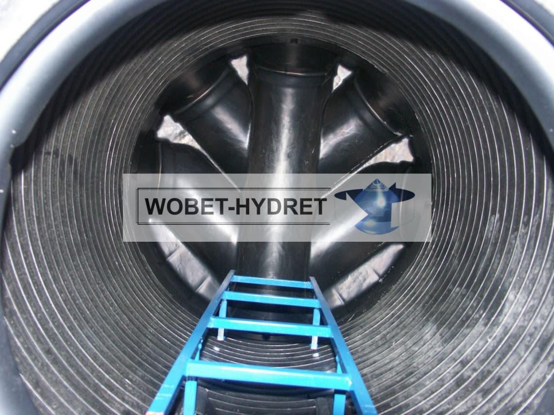Studnia kanalizacyjna Wobet-Hydret