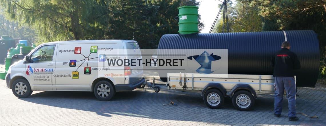 Zbiorniki bezodpływowe Wobet-Hydret