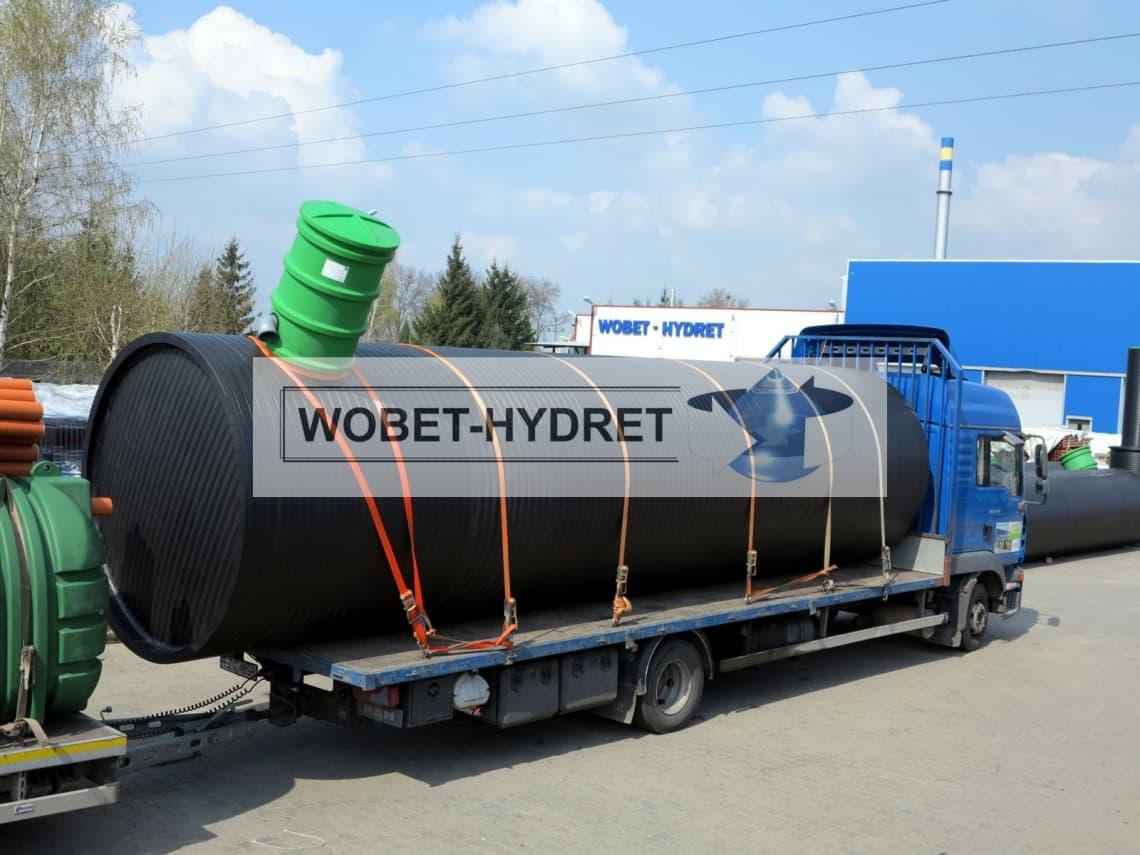 Zbiorniki bezodpływowe Wobet-Hydret - transport