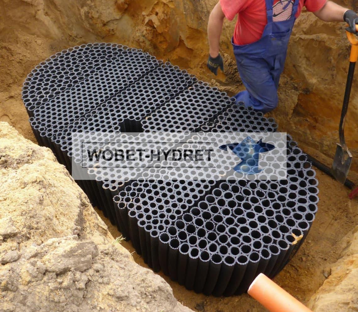 Odprowadzenie wód deszczowych Wobet-Hydret