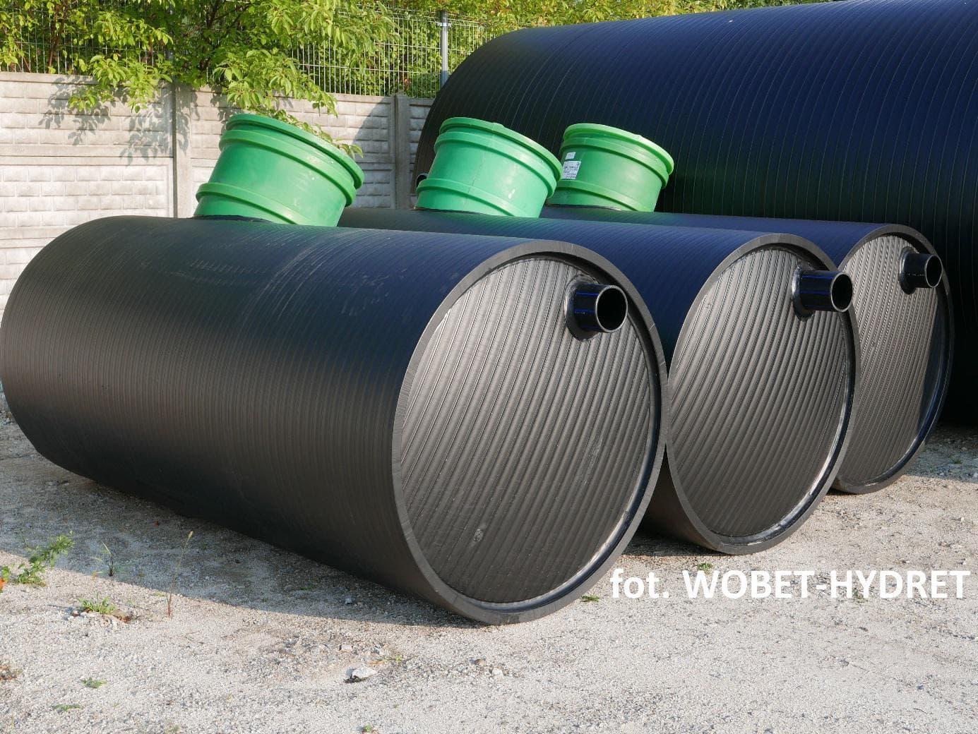 Zbiornik bezodpływowy 3m3 - Wobet-Hydret