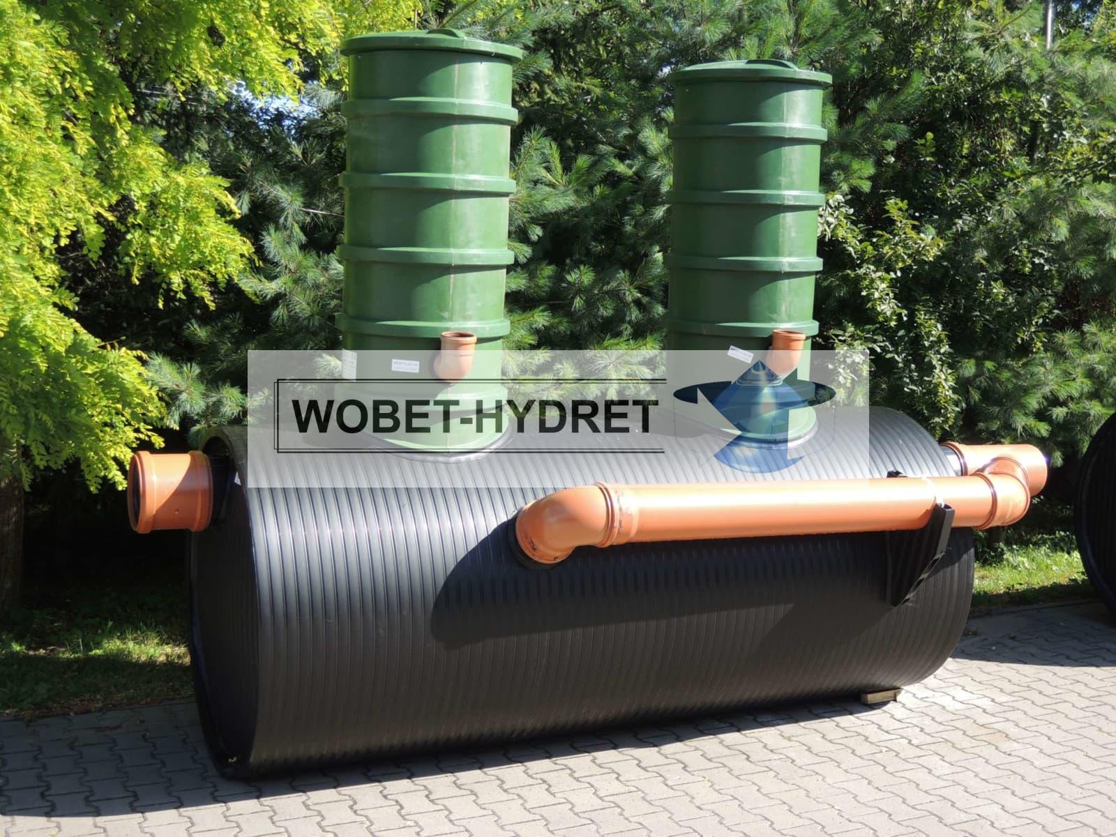 Nowoczesna architektura Separatory koalescencyjne - Wobet Hydret MW31